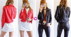 SHOP NOW CAMPERA CUERO $2100 BUDAPEST (rojo) MANHATTAN (negro) Importadas cuero premium cortitas y al cuerpo talle S/M/L. Local Belgrano Envíos Efectivo Tarjetas 3 cuotas sin interés Tienda Online www.oyuelito.com.ar #followme #oyuelitostore #stylish #styles #fashion #model #fashionista #fashionpost #ootd #moda #clothing #instafashion #trendy #chic #girl #trends #outfitoftheday #selfie #showroom #loveit #look #lookbook #inspirationoftheday #modafemenina