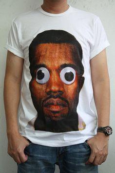 KANYE WEST Rapper hip hop R rock men t-shirt tank tops vest t-shirts tee ($14.99) - Svpply
