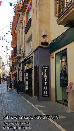 Nuestro estudio @deysitattoo se encuentra en la C/ Santa Maria, nº22 de Sant Cugat del Vallès (Barcelona), calle peatonal y tranquila. #santcugat #barcelona #spain #estuditatuatge #estudiotatuaje #tattoostudio
