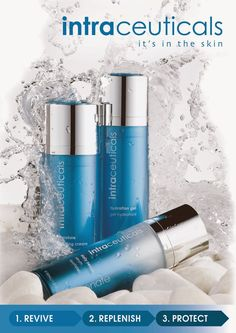 Stop Moisturising - Start Layering! Intraceuticals 3 Step dramatically transforms the skin for instant wow! #intraceuticals #3step #itsintheskin