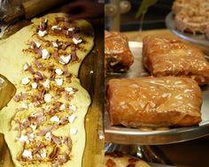 Ham, Cream Cheese & Pepper Jelly Fritter: Sliced ham, Cream cheese w/ Pepper Jelly glaze!