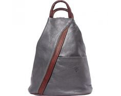 LaGaksta Submedium Italian Leather Backpack Purse and Shoulder Bag