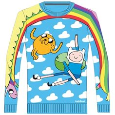 Toddland Adventure Time Finn and Jake sweater