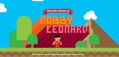 Creative Video Game Resume by Robby Leonardi: Now Beat My Resume Web Design, Game Design, Graphic Design, Resume Design, My Resume, Best Resume, Visual Resume, Game Programming, Le Cv
