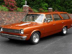 1969 AMC Rambler American Wagon. This would be soooo much better than a bland minivan