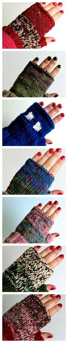 Fingerless Gloves <3