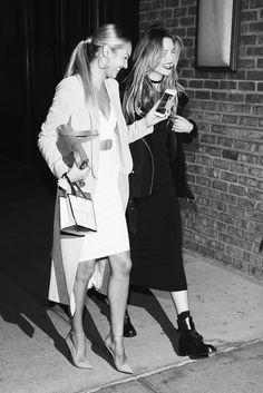 Candice Swanepoel and Behati Prinsloo - Victoria's Secret Party.