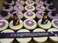 Graduation party cupcakes!