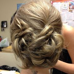 Hair styling by Jacki of RS Makeup Artistry.