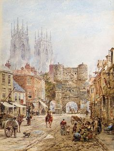 A view of York (Bootham Bar)