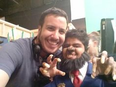 """""""Just another typical day on the Odd Squad set."""" 