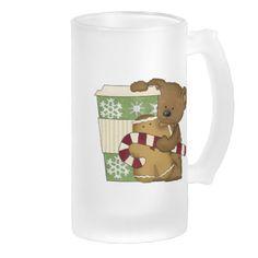 Coffee Bear Ice Coffee Frosted Mug