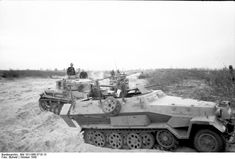 Sd.Kfz. 251/6 and Pz.Kpfw. III, Russia center, October 1943