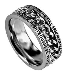 Chain Ring Armor of God