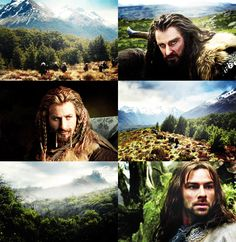 thorin fili and kili- Thorin is totally my fave! then fili, then bofur, then kili, then. . .