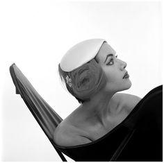 Evelyn Orcel, 1955.  Photo by Hans Dukker