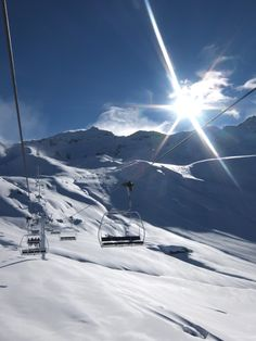 perfect day to be in the mountains, Val Thorens