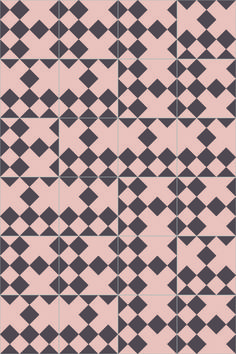 India Mahdavi for Bisazza / Domino cement tiles / London Design Journal