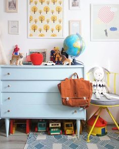 Colorful kids room by  @jauraispumappelermarcel
