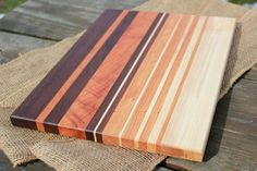 Hardwood Cutting Board Cherry Walnut & by BlackWalnutWoodshop