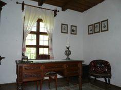 "Ipoteşti. Casa Memorială ""Mihai Eminescu"" | Melidonium Curtains, Mirror, Furniture, Home Decor, Insulated Curtains, Homemade Home Decor, Blinds, Mirrors, Home Furnishings"
