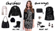 1 Dress, 2 Ways | http://fullahsugah.gr/ | #Fashion #Combinations #InspireMe #FullahSugah