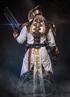 Warlock - Destiny by Fenyachan Destiny Cosplay, Geek Costume, Cosplay Costumes, Cosplay Ideas, Destiny Game, My Destiny, High Tech Low Life, Finn The Human, Sci Fi Armor