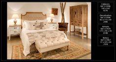 Dormitorio ecléctico con influencia oriental que puedes adquirir en nuestra tienda de Madrid o a través de nuestra web http://www.originalhouse.info/