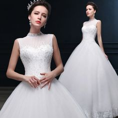 Imi LI Ya Neck brand wedding dress 2014 new winter fashion retro elegant Chinese shipping 14138