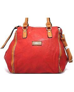 Vegan Contrast Colour Zip Bag by Bess Bags 4d787f324a7d4