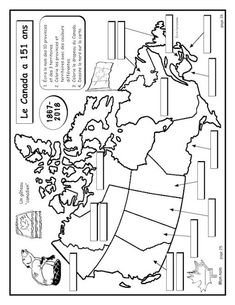 Carte du Canada – Cahiers d'activités N.G. Geography Of Canada, Social Studies For Kids, Kids Study, Art Kids, Motorcycle Humor, French Kids, Teachers Corner, Science And Nature, Nature Nature