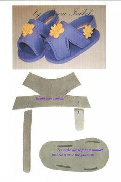 Modelo sapatinho