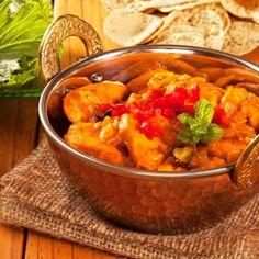 Poulet au curry et au lait de coco