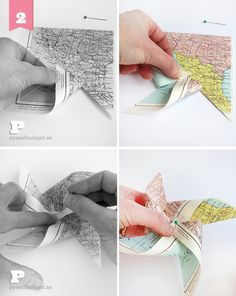 World Map Party Theme – Pretty Pinwheels - Pysselbolaget Pinwheel Tutorial, Diy Tutorial, Airplane Party, Paper Crafts, Diy Crafts, So Creative, Easy Crafts For Kids, Diy Projects To Try, Pinwheels