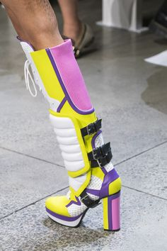 Jeremy Scott at New York Fashion Week Spring 2019 - Details Runway Photos