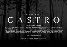 Photoshop Download: Castro, fonte gratuita. | ::Tutoriais Photoshop::