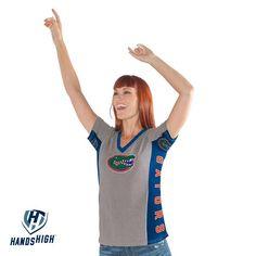 NCAA Florida Gators Hands High Women's Sideline T-Shirt