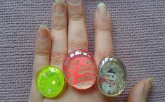 Vídeo tutorial paso a paso para hacer anillos con piedras de cristal y esmalte para uñas. Pintados a mano. Manualidades fáciles. ♥INFORMACIÓN SOBRE EL CURSO ...