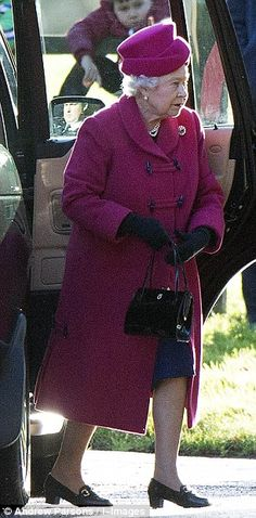 dailymail:  Queen Elizabeth, with the Duke of Edinburgh, attended church service at St. Mary Magdalene in Sandringham village, December 22, 2013.