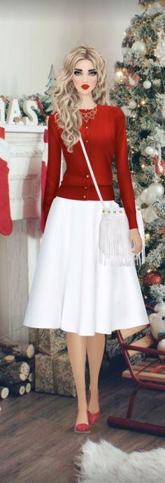 Fashion Games, Covet Fashion, Anime, Christmas, Vintage, Beauty, Style, Templates, Winter