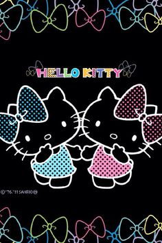 Goodbye Kitty Sanrio Hello Art Pictures Cute Wallpapers Phone Characters Wallpaper Love