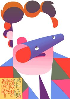 Stunning psychedelic posters from Dutch illustrator / genius Eline Van Dam http://www.zeloot.nl/