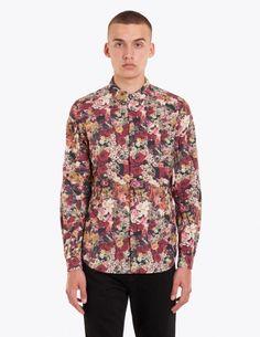 Undercover - Flower Print Shirt Red | TRÈS BIEN