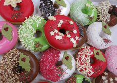 Donuts for Christmas, So Nice by Donuts+Bagels