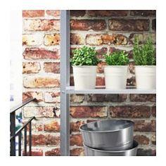SOCKER Plant pot, indoor/outdoor, white - indoor/outdoor/white - 9 cm - IKEA