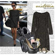 """""""STYLE STAR: Victoria Beckham"""" by itshanilove on Polyvore"""