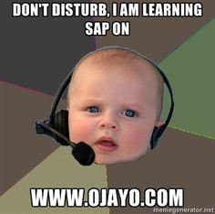 16 Best Ojayo Com Sap Training Online Meme Images Sap Make Me