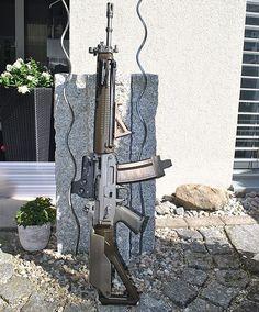 Ak 47, Sig Sauer, Cool Guns, Assault Rifle, Paintball, Tactical Gear, Airsoft, Walking Dead, Firearms