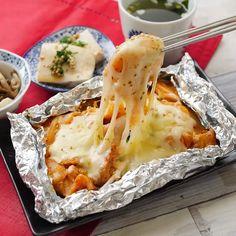 Recipes For Kids Healthy Cooking, Cooking Recipes, Bread Recipes, Meatloaf Recipes, Sausage Recipes, Onigirazu, Good Food, Yummy Food, Diy Food