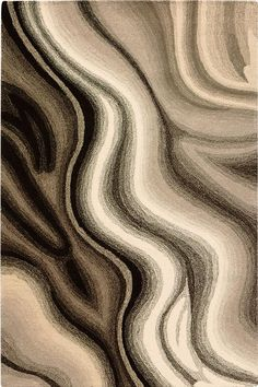 Rush Area Rug  |  reminiscent of marbling and/or agate